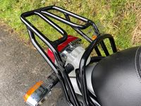 REAR RACK BLACK for Royal Enfield INTERCEPTOR 650 TWIN EURO 4