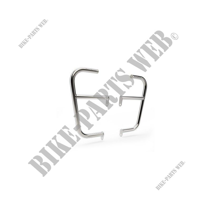 LARGE ENGINE GUARDS STAINLESS for Royal Enfield INTERCEPTOR 650 TWIN EURO 4