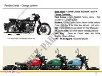 SPECIFIC PARTS for Royal Enfield CLASSIC 500 REDDITCH