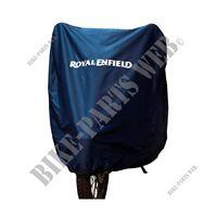WATER RESISTANT COVER BLUE for Royal Enfield CLASSIC 500 REDDITCH