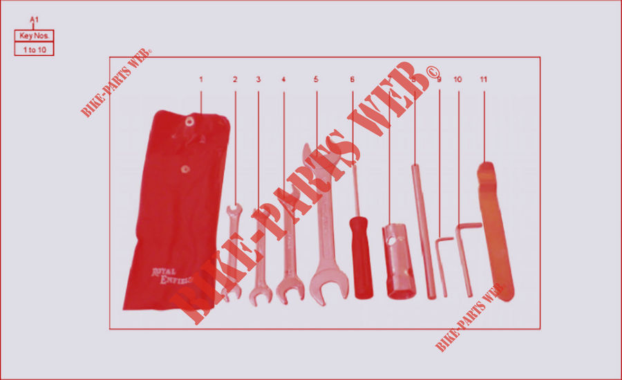 TOOL KIT for Royal Enfield CLASSIC 500 EURO 3