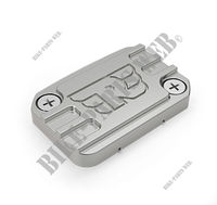 BRAKE MASTER CYLINDER CAP SILVER for Royal Enfield CLASSIC 500 GUNMETAL GREY