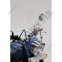 CLEAR WINDSCREEN for Royal Enfield CLASSIC 500 GUNMETAL GREY
