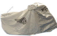 RETRO LOGO COVER GREY for Royal Enfield CLASSIC 500 GUNMETAL GREY
