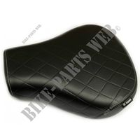 TOURING RIDERS SEAT for Royal Enfield CLASSIC 500 GUNMETAL GREY