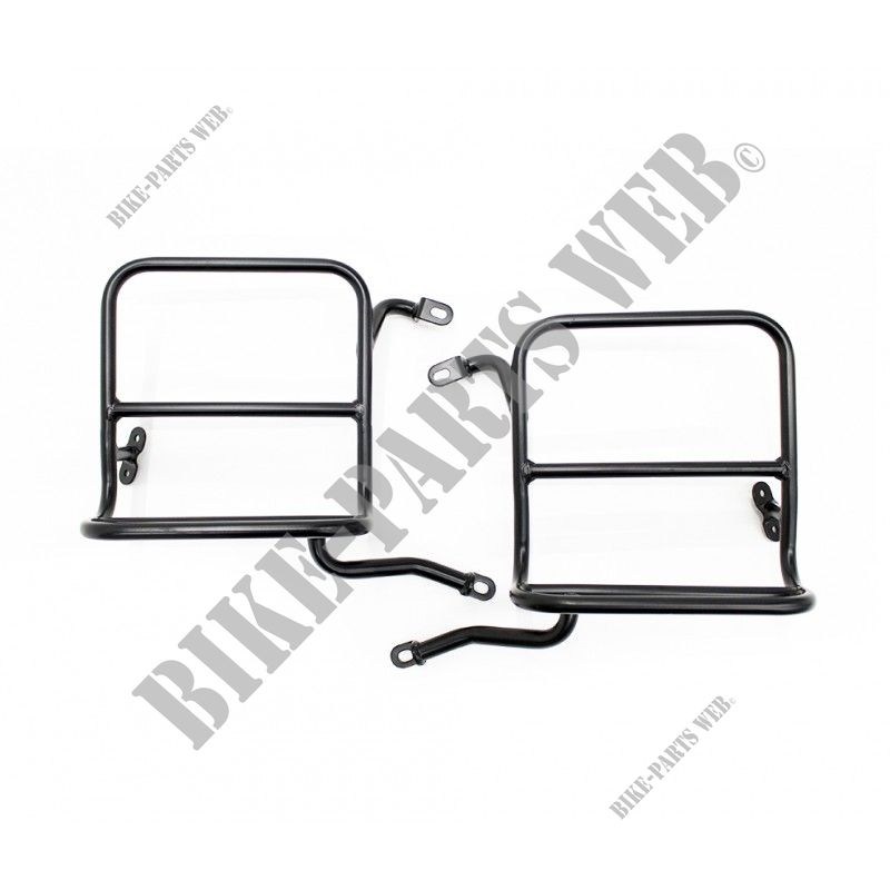 Pannier Rails For Royal Enfield Classic 500 Gunmetal Grey
