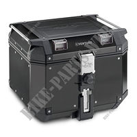 42 LITRE TOP CASE BLACK for Royal Enfield HIMALAYAN 410 EURO 4