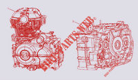 ENGINE for Royal Enfield HIMALAYAN 410 EURO 4