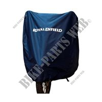 WATER RESISTANT COVER BLUE for Royal Enfield HIMALAYAN 410 EURO 4